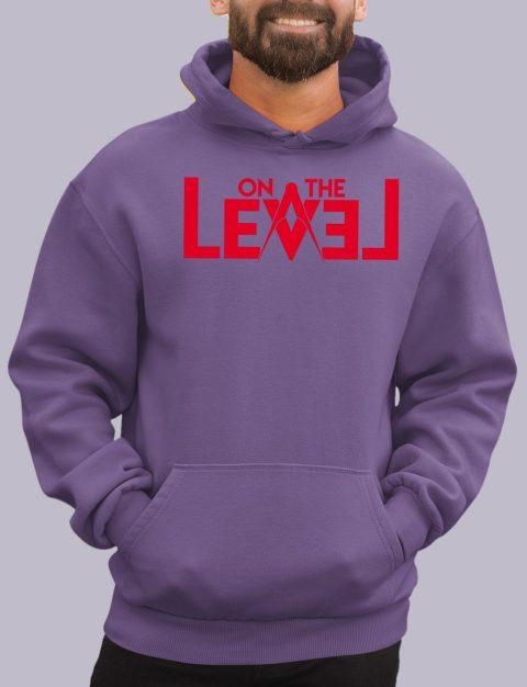 On The Level Masonic Hoodie otlevel 1 purple hoodie