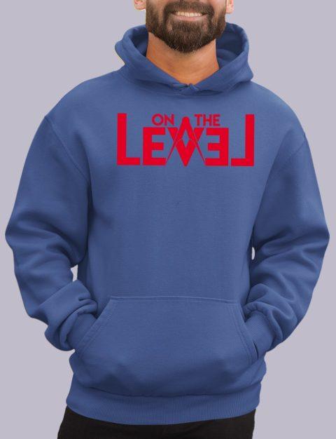 On The Level Masonic Hoodie otlevel 1 royal hoodie