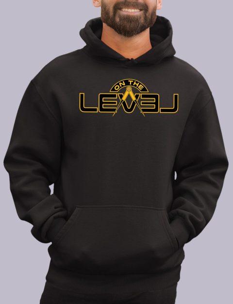 On The Level Freemason Hoodie otlevel 2 black hoodie
