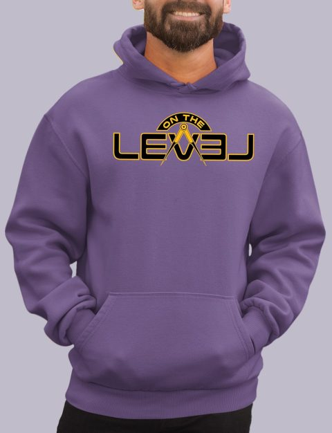 On The Level Freemason Hoodie otlevel 2 purple hoodie