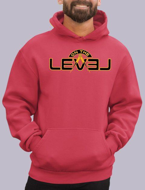 On The Level Freemason Hoodie otlevel 2 red hoodie