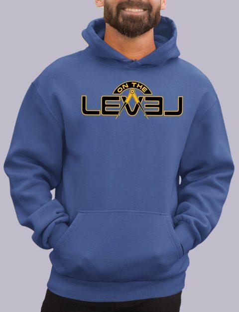 On The Level Freemason Hoodie otlevel 2 royal hoodie