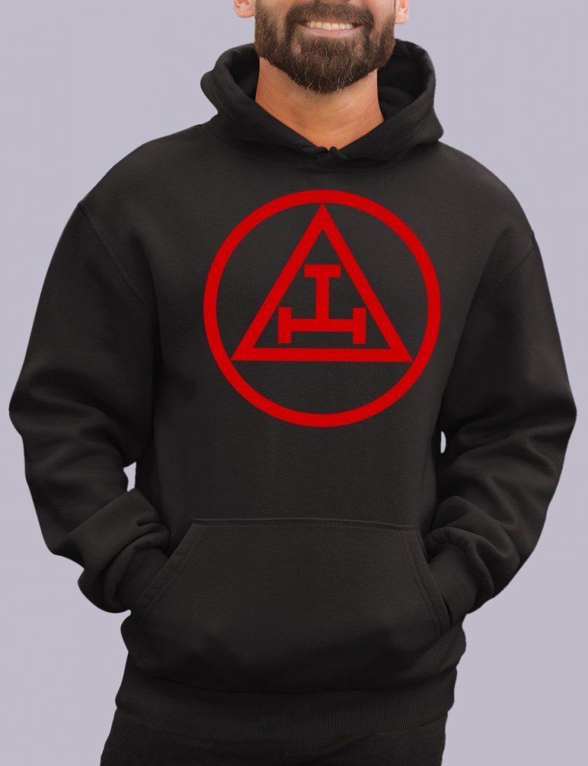 royal arch black hoodie