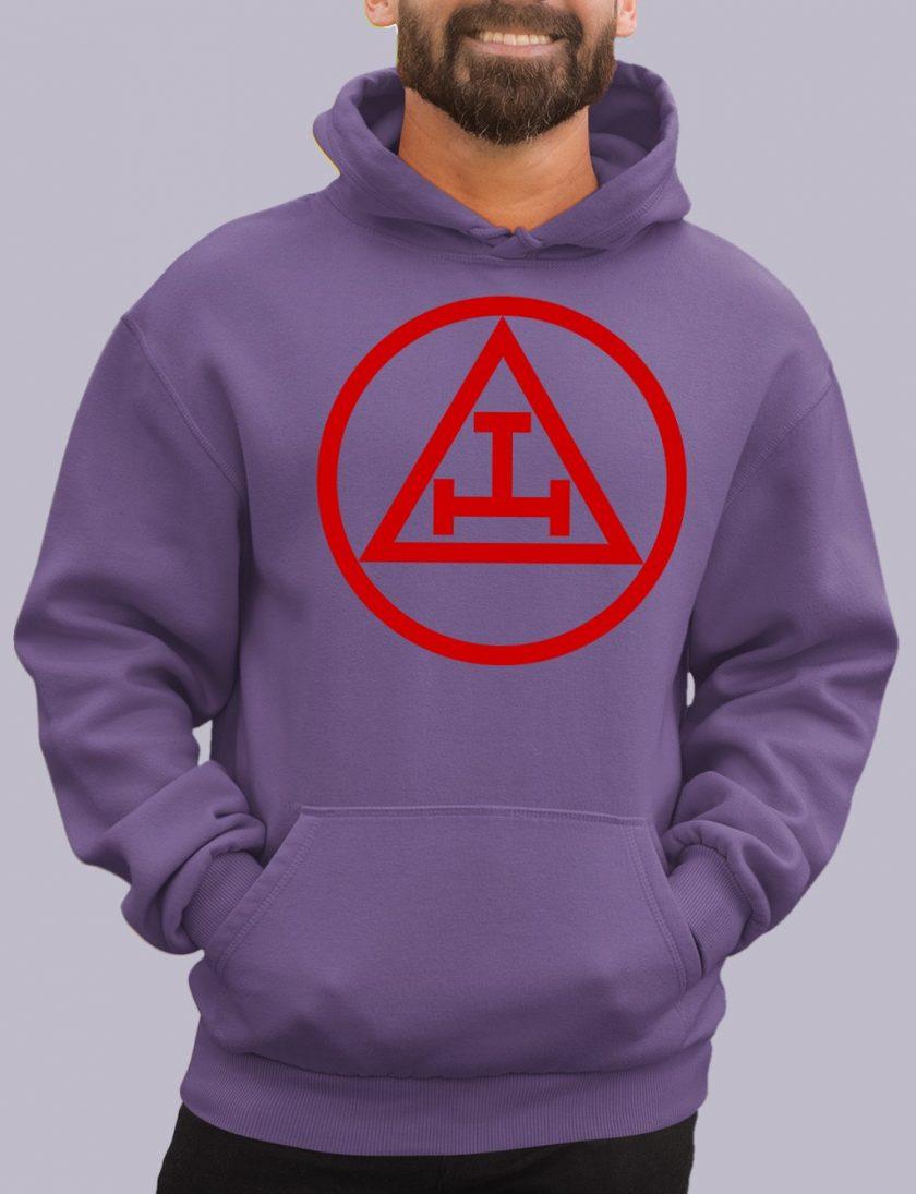 royal arch purple hoodie