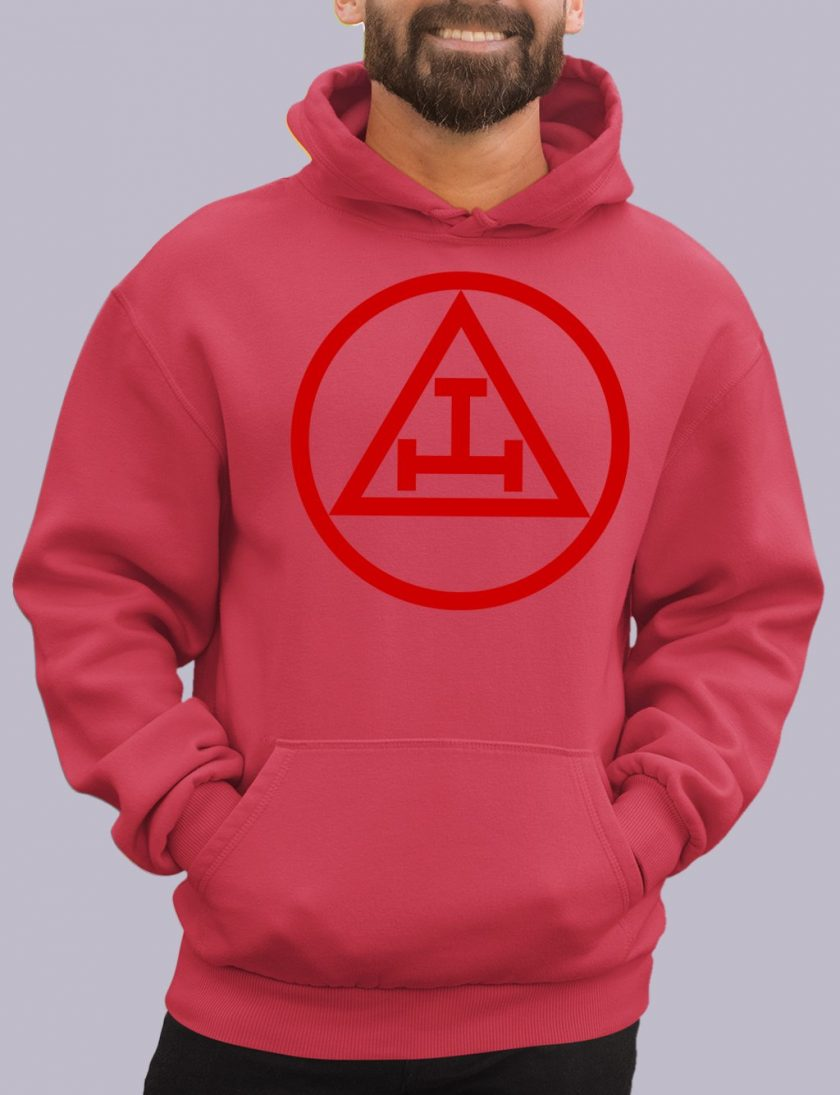 royal arch red hoodie