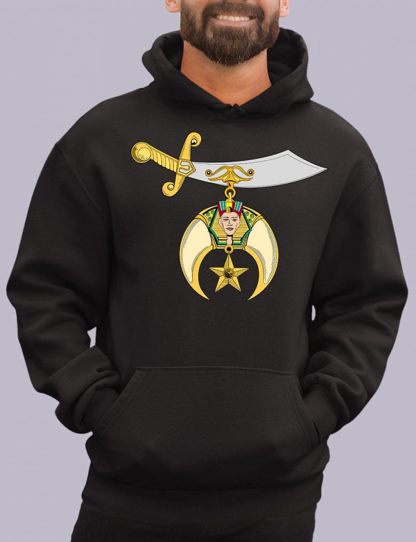 shrines black hoodie