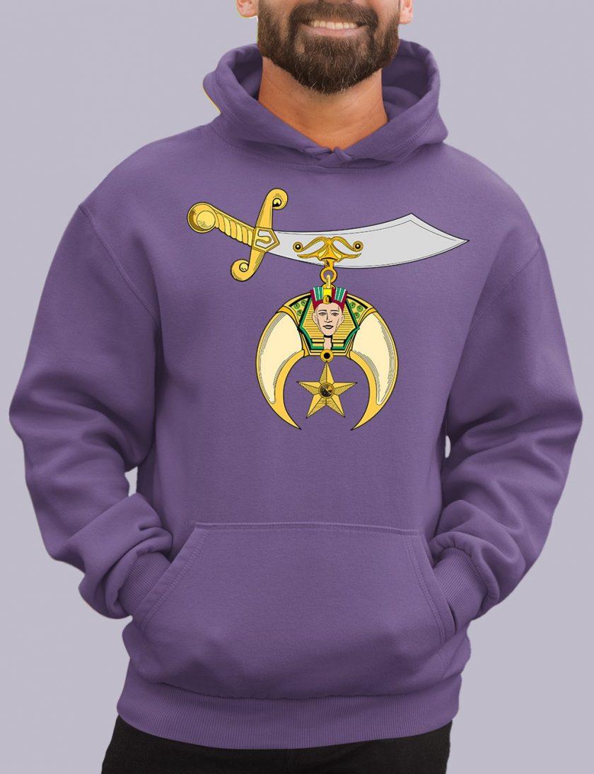 shrines purple hoodie