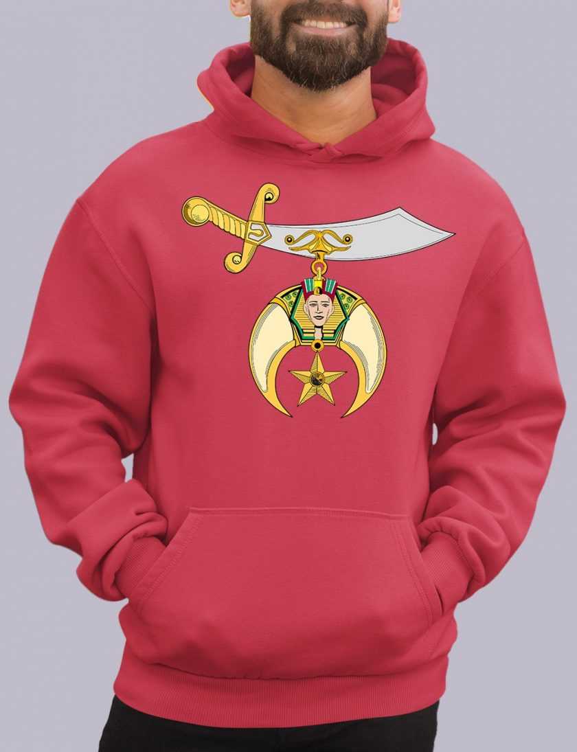 shrines red hoodie