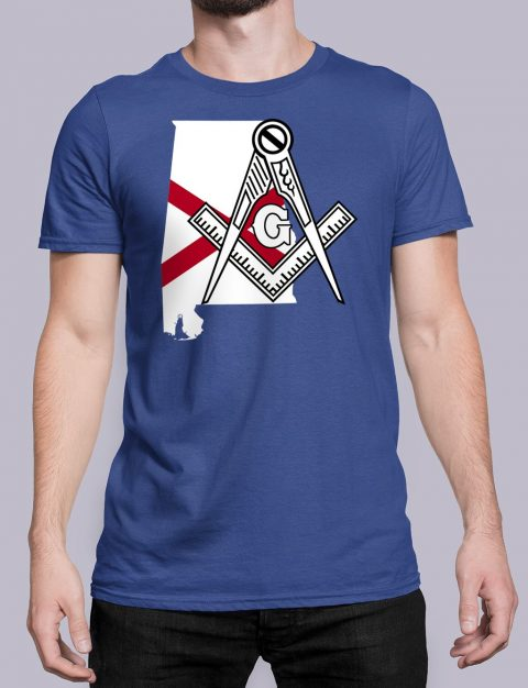 Alabama Masonic Tee Alabama royal shirt