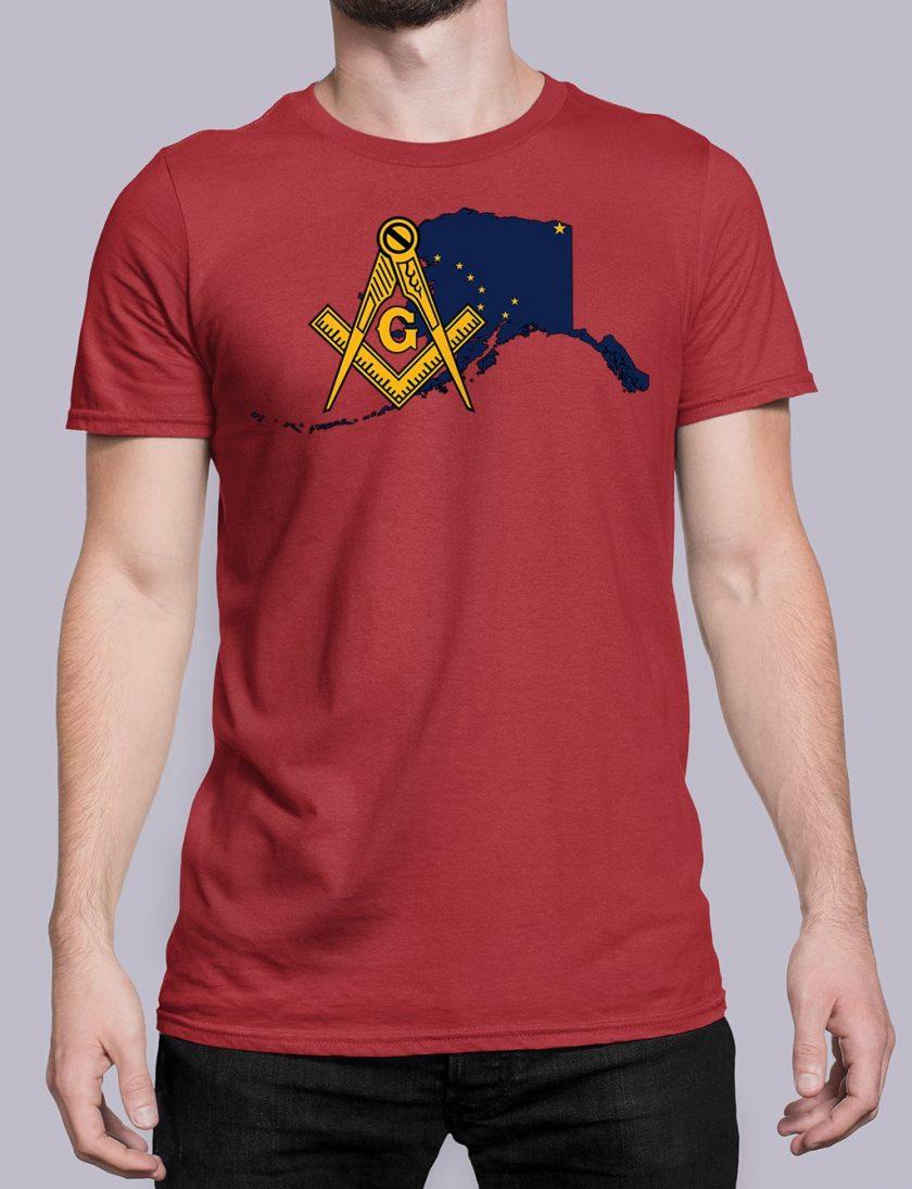 Alaska red shirt