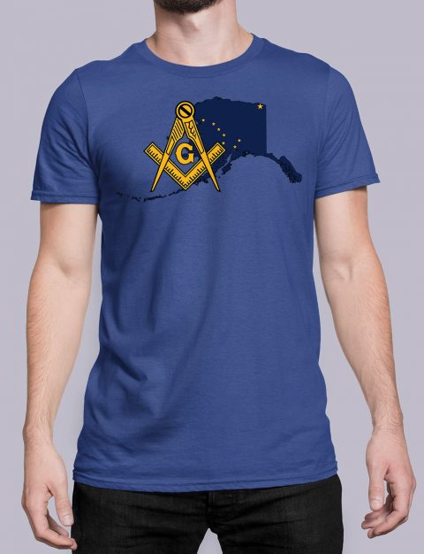 Alaska Masonic Tee Alaska royal shirt