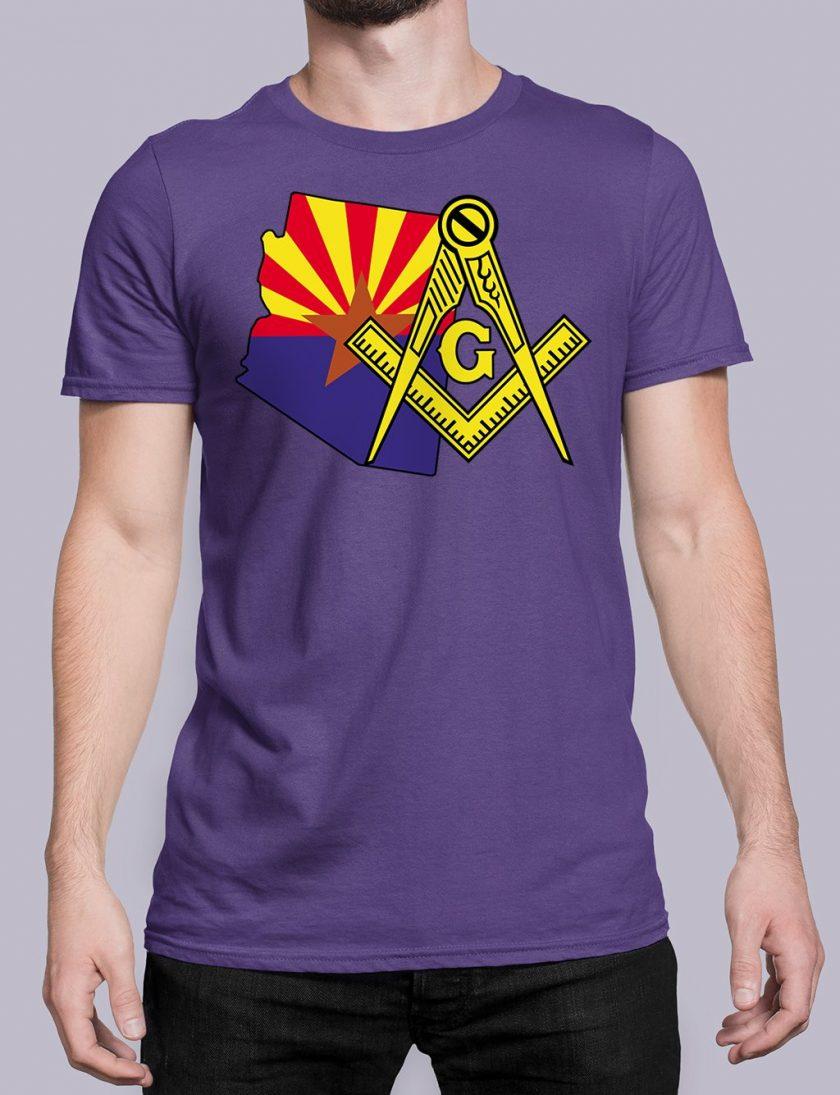 Arizona purple shirt