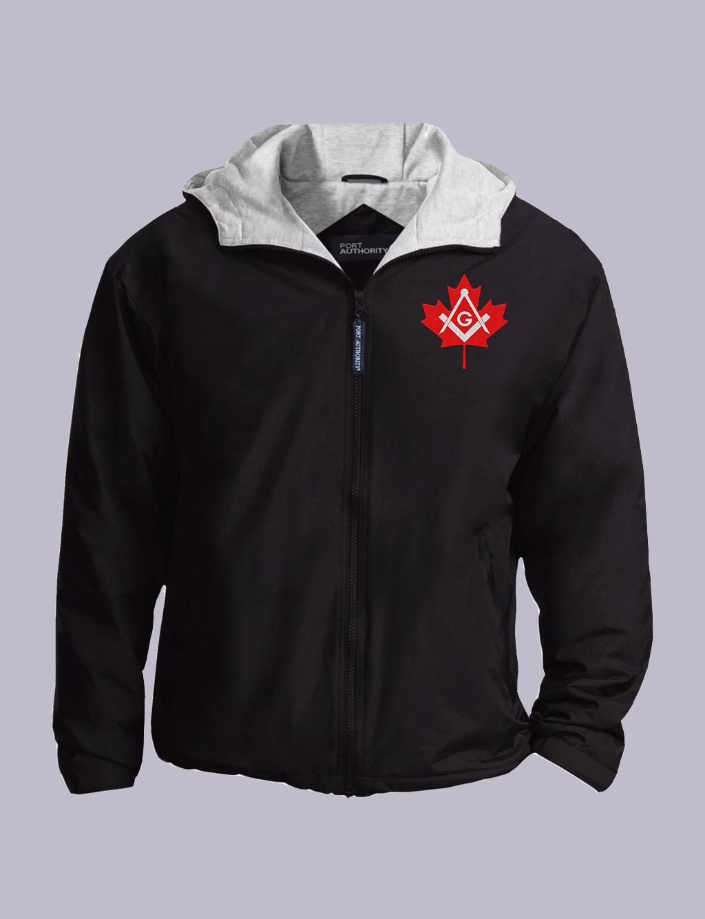 Canadian Freemasons Embroidery Masonic Jacket | MASONIC VIBE