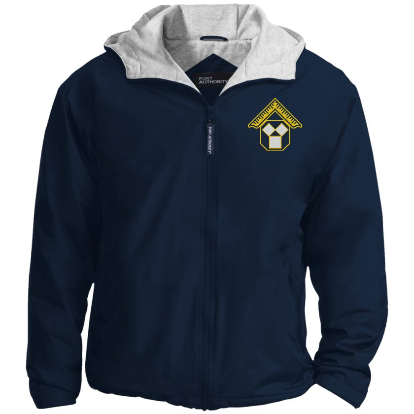 Pennsylvania Past Master Masonic Embroidered Jacket Navy