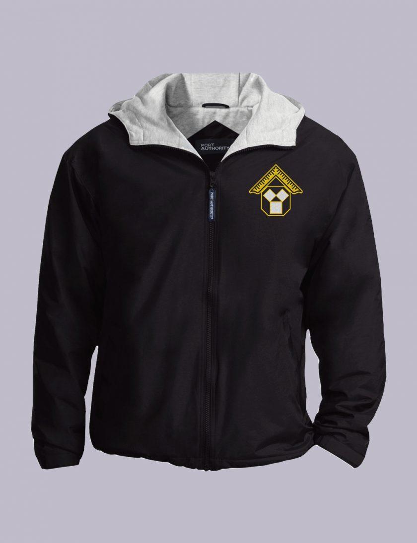 Pennsylvania Past Master Masonic Jacket Black