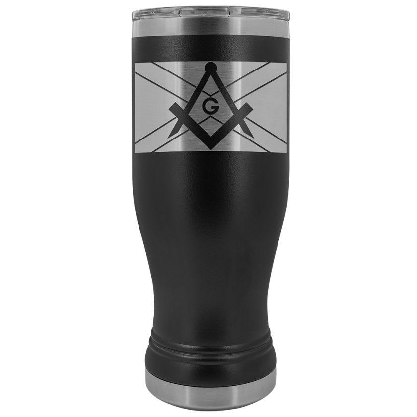 Scottish Masonic BOHO 20oz Tumbler Black