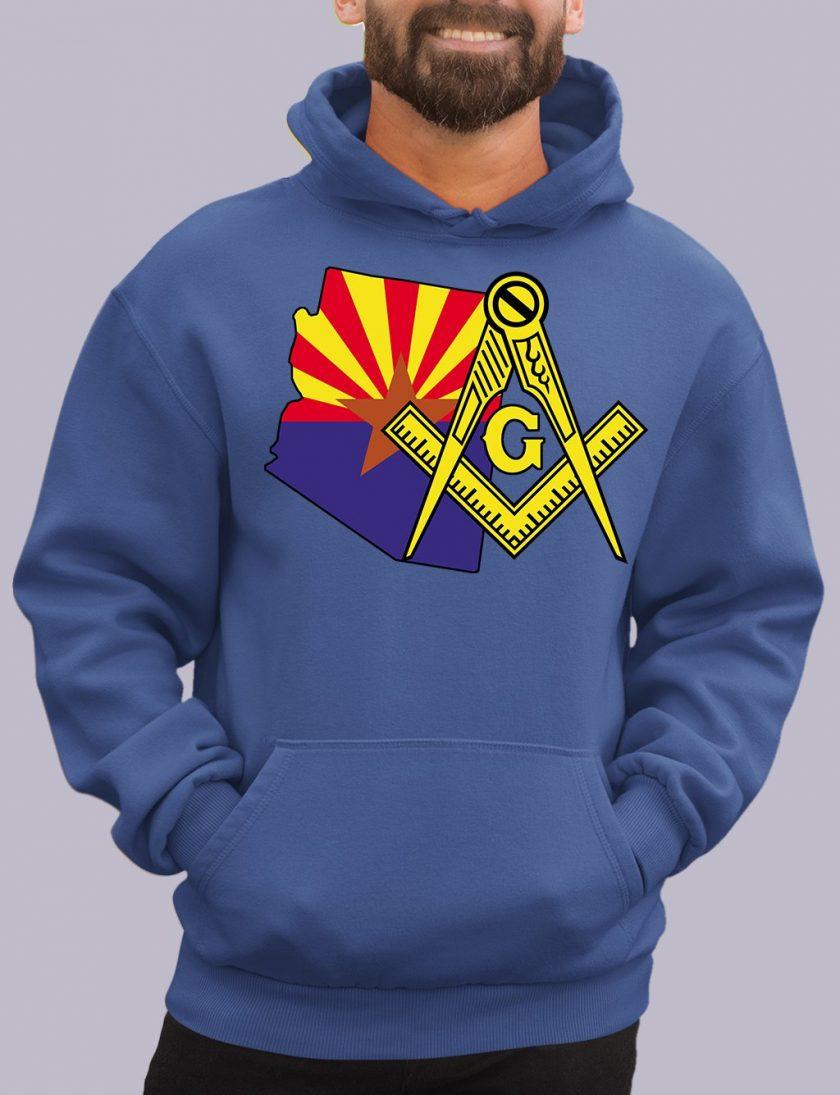 arizona royal hoodie
