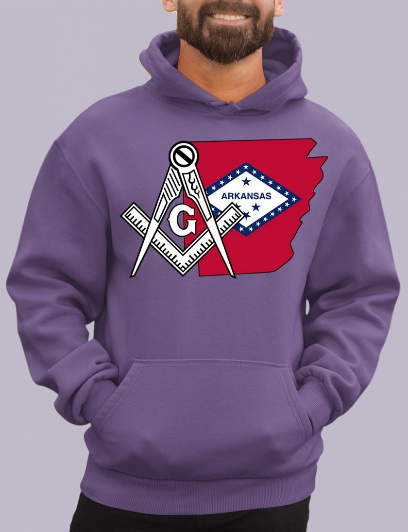 arkansas purple hoodie