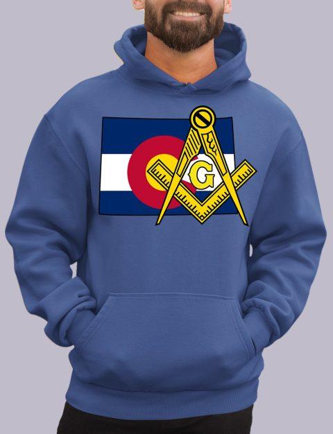 Colorado Masonic Hoodie colorado royal hoodie
