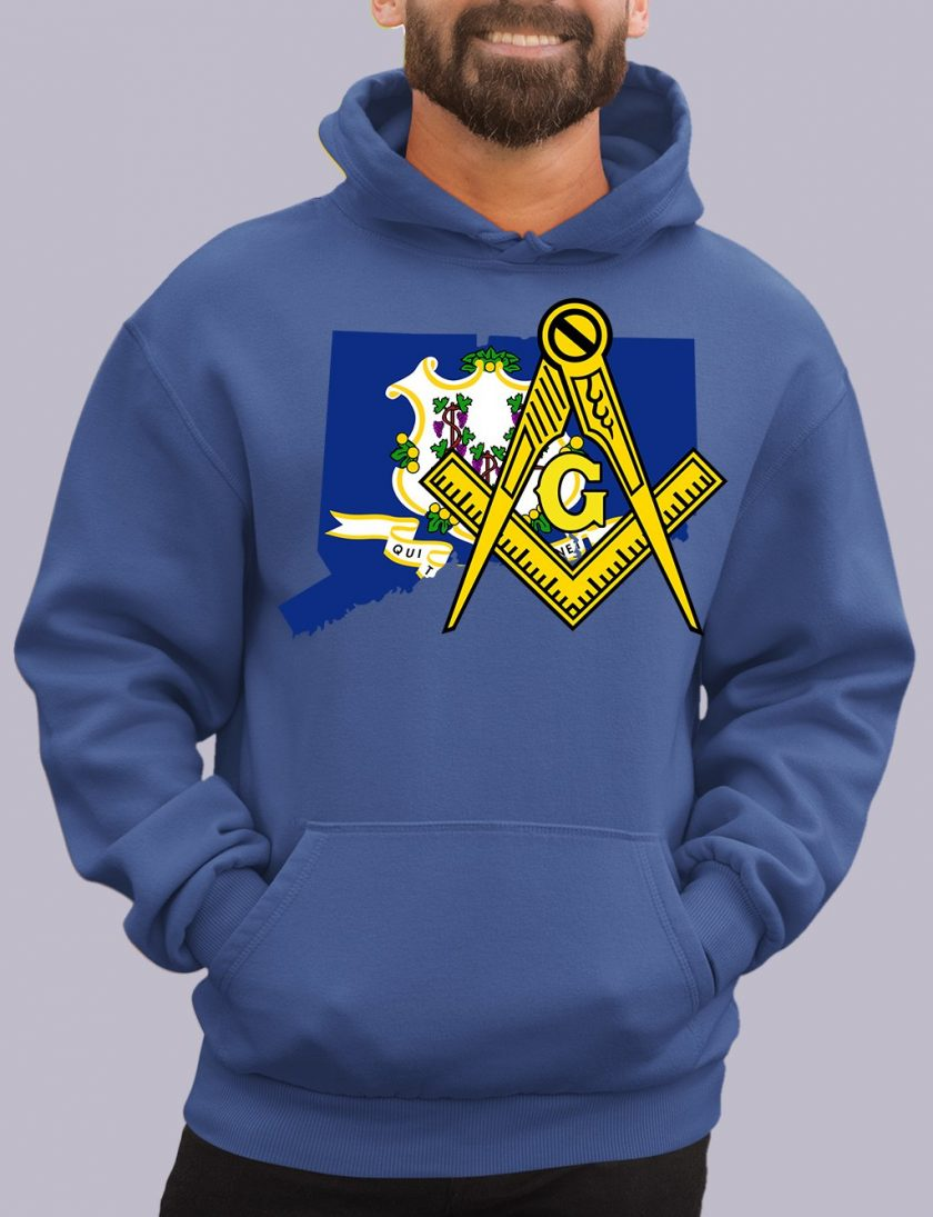 connecticut royal hoodie