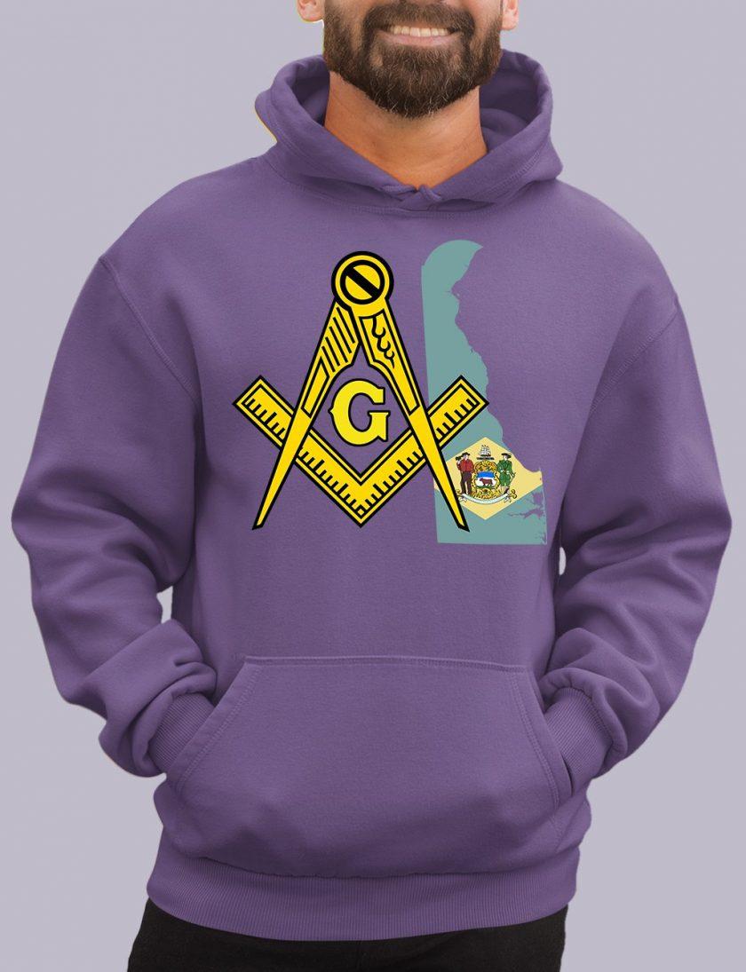 delaware purple hoodie
