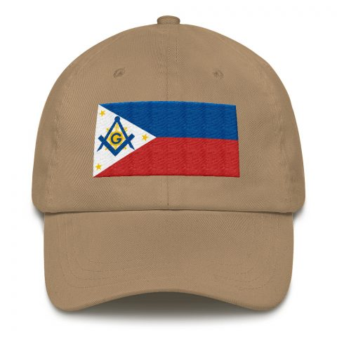 Philippines Masonic Hat Embroidery mockup 06e3132f