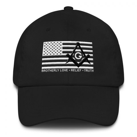 Brotherly Love Relief Truth Masonic Hat mockup 9516f582