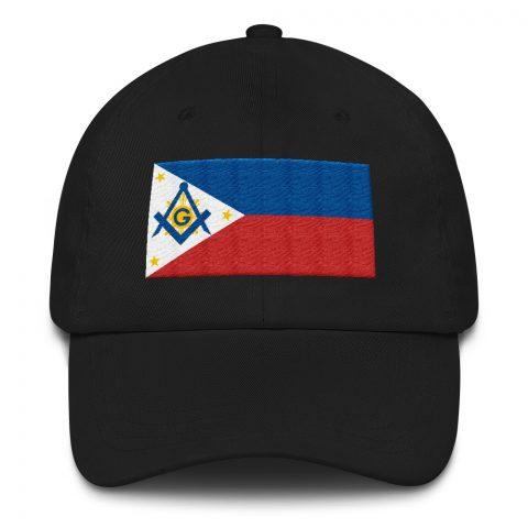 Philippines Masonic Hat Embroidery mockup eb80bae6