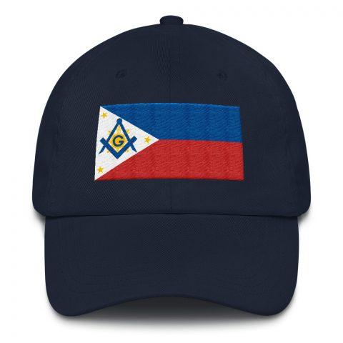 Philippines Masonic Hat Embroidery mockup f7b6ad7f