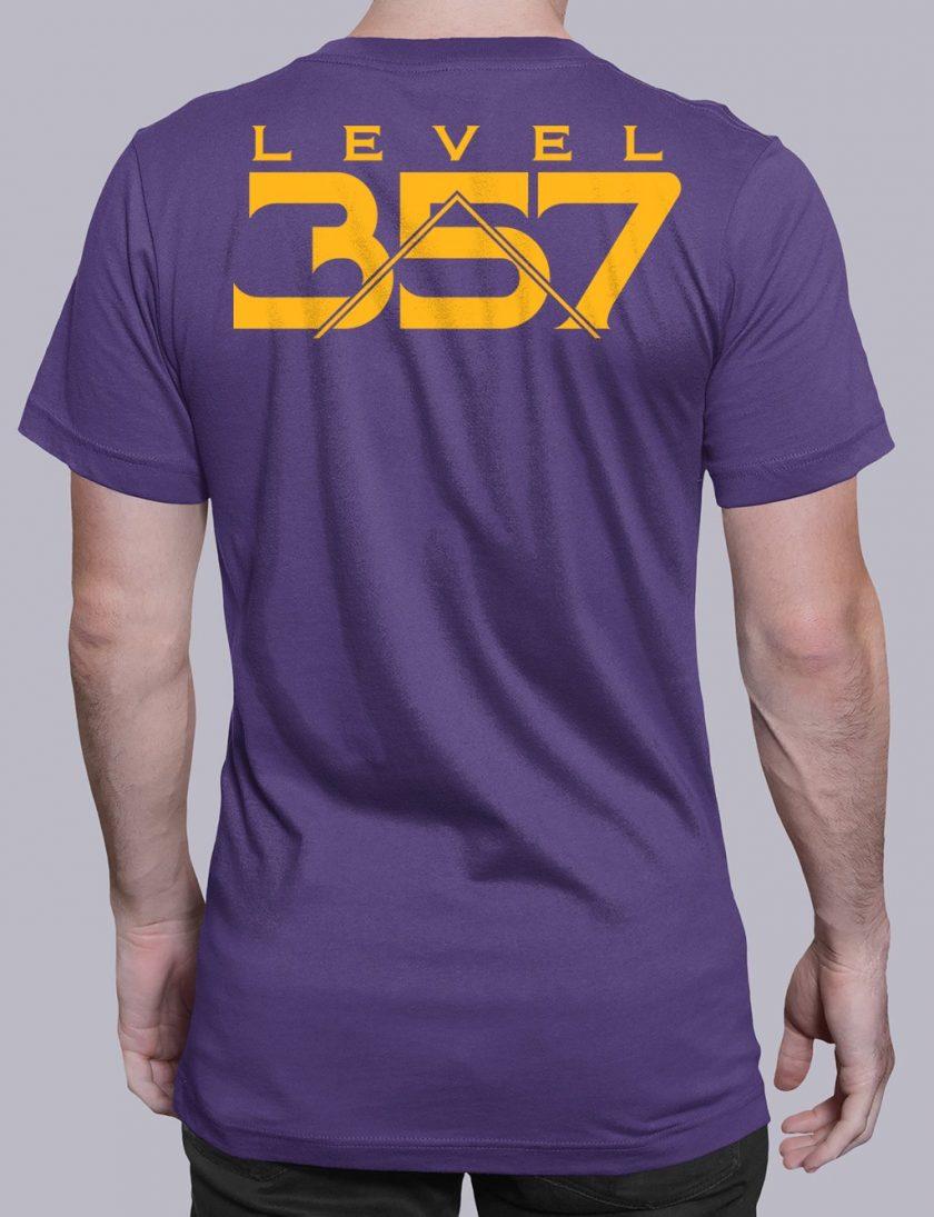 Level 357 back purple shirt back 5
