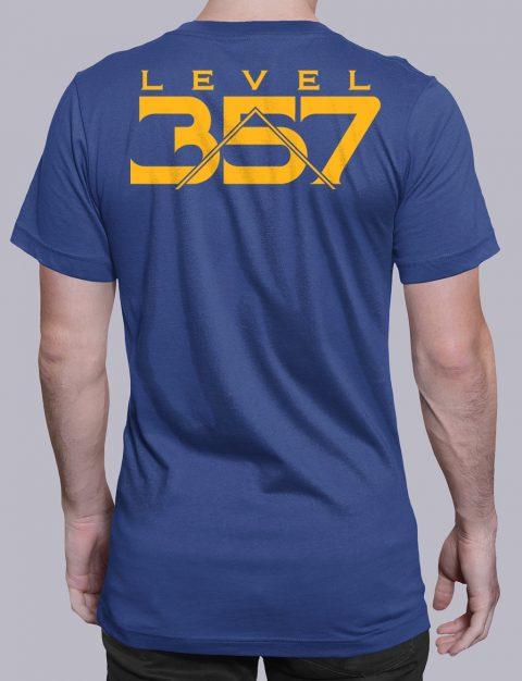 Level 357 Masonic T-Shirt Level 357 back royal shirt back 5