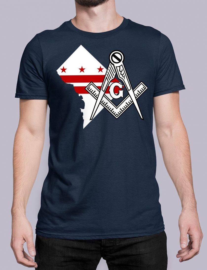 Washington DC navy shirt
