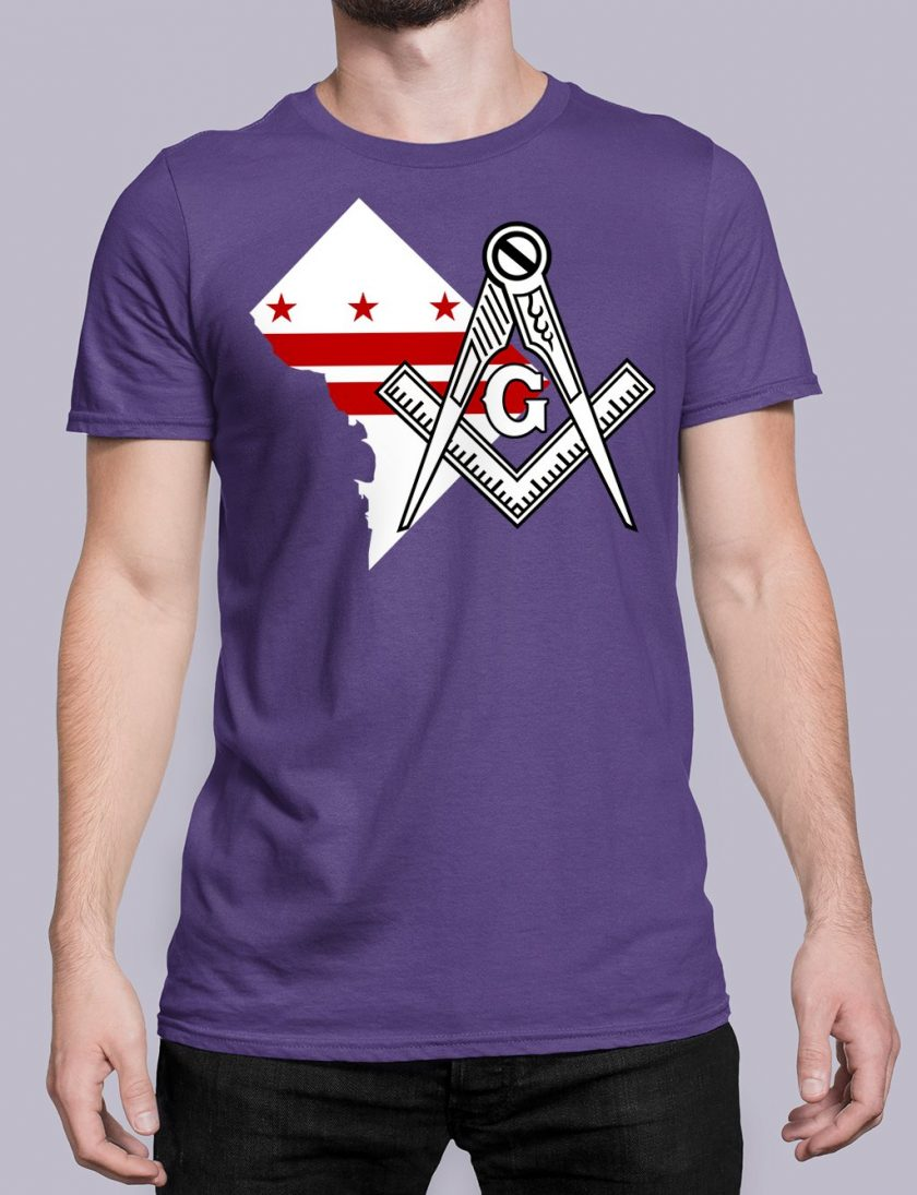 Washington DC purple shirt