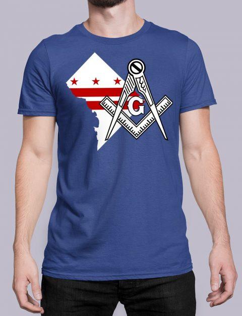 Washington DC Masonic T-Shirt Washington DC royal shirt