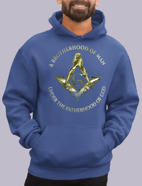 A Brotherhood of Man Masonic Hoodie 1 a bro of man royal hoodie
