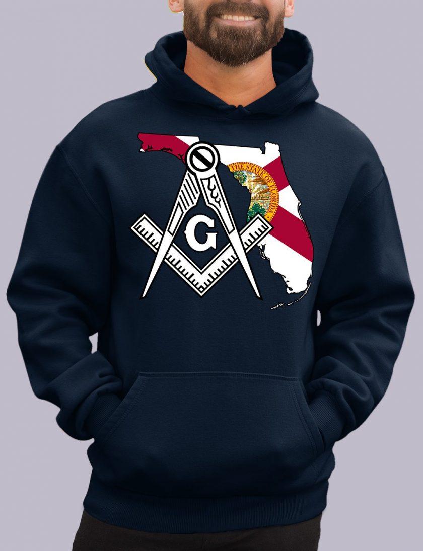 florida navy hoodie