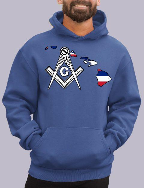 Hawaii Masonic Hoodie hawaii royal hoodie