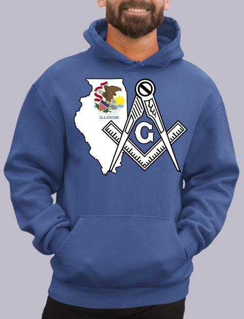 Illinois Masonic Hoodie illinois royal hoodie