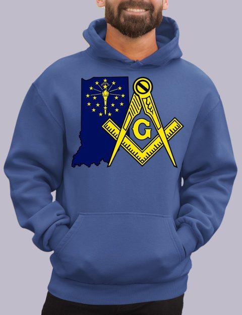 Indiana Masonic Hoodie indiana royal hoodie