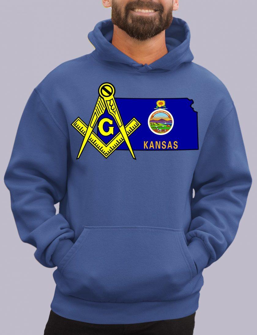 kansas royal hoodie