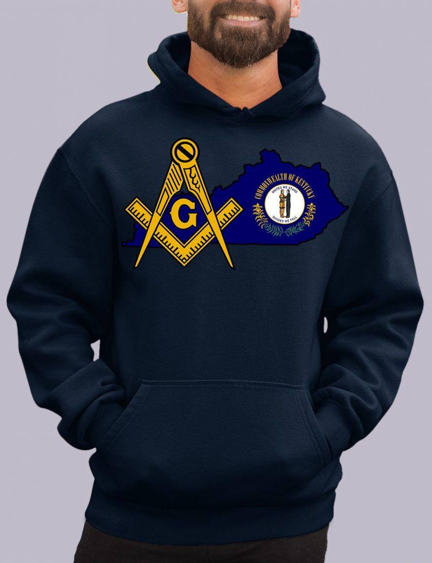 kentucky navy hoodie