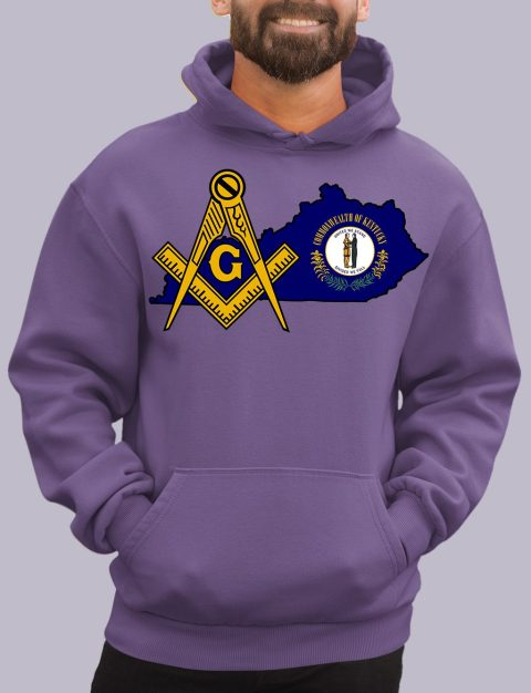 Kentucky Masonic Hoodie kentucky purple hoodie
