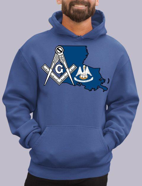Louisiana Masonic Hoodie louisiana royal hoodie