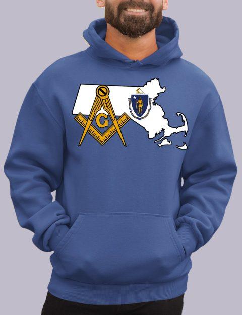 Massachusetts Masonic Hoodie massachuset royal hoodie