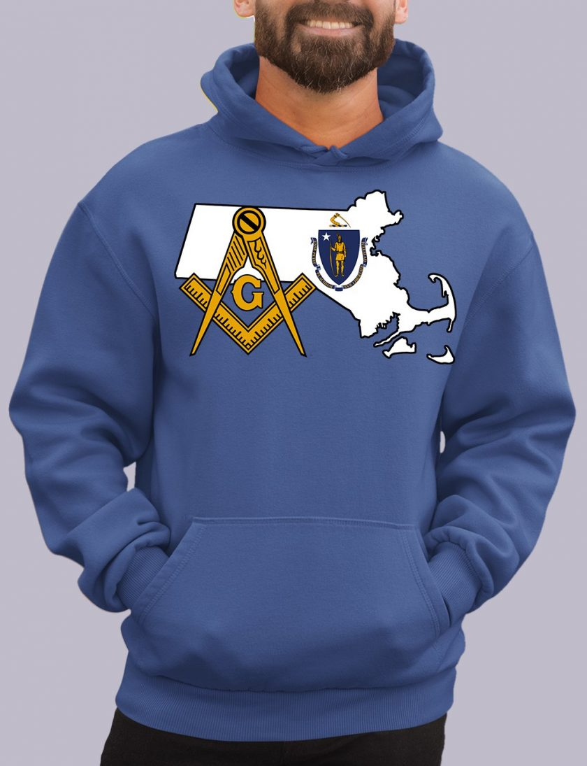 massachuset royal hoodie