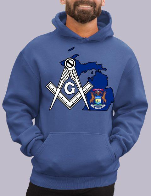 Michigan Masonic Hoodie michigan royal hoodie
