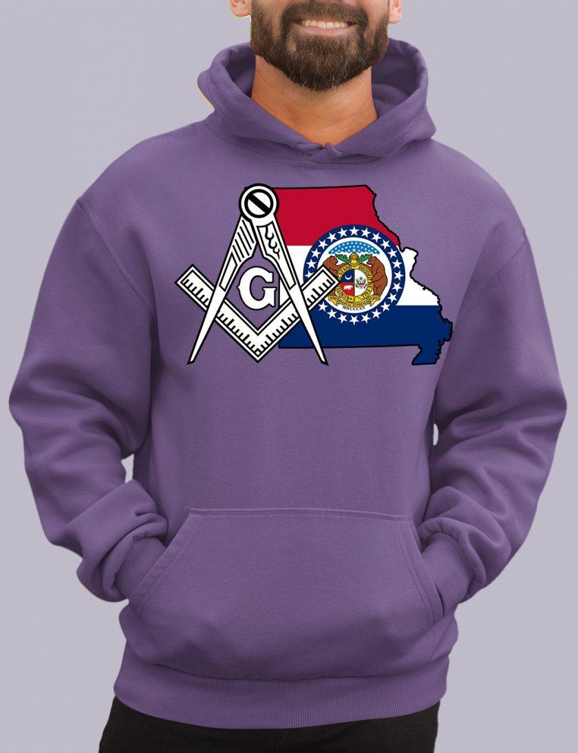 missiouri purple hoodie