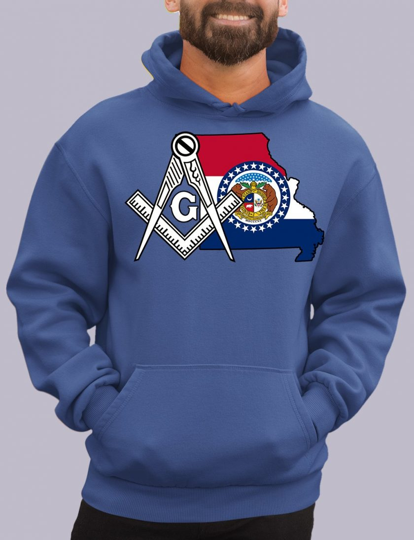 missiouri royal hoodie