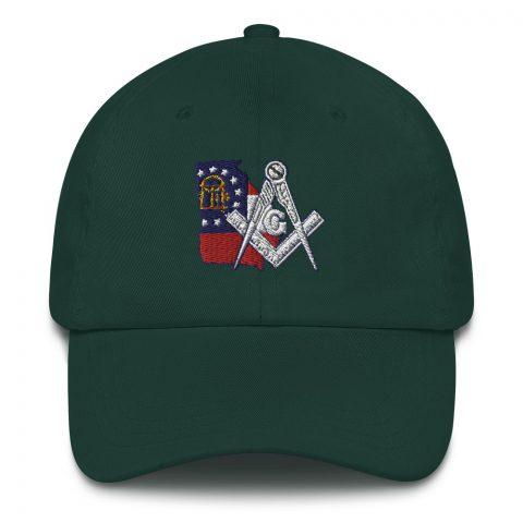 Georgia Embroidered Masonic hat mockup 03c391d1
