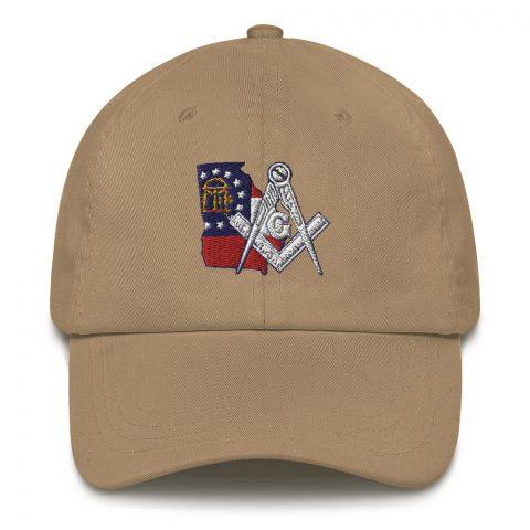 Georgia Embroidered Masonic hat mockup b2529ccb
